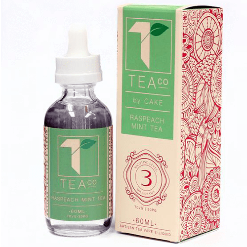 Cake Vapors Raspeach Mint Tea