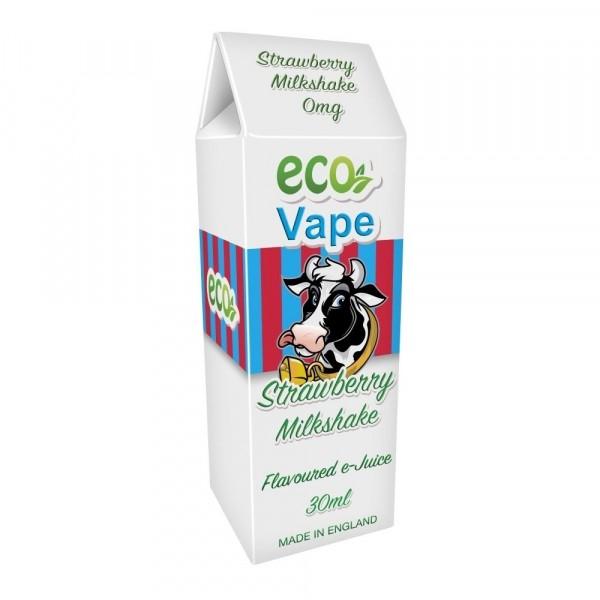 ECO Vape Strawberry Milkshake