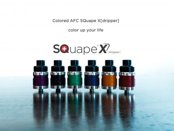 Stattqualm AFC SQuape X[dripper] Schwarz