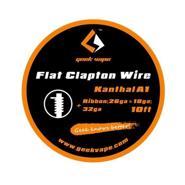 Geek Vape Flat Clapton Wire