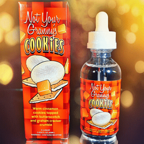 Nitro Vapor Not Your Grannys Cookies