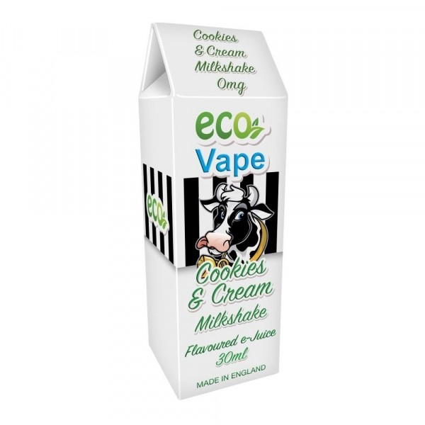 ECO Vape Cookies and Cream Milkshake