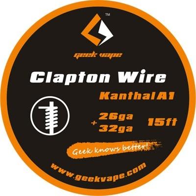 Geek Vape Clapton Wire Kanthal A1 26ga + 32ga