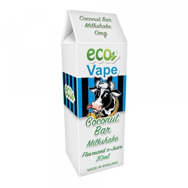 ECO Vape Coconut Bar Milkshake